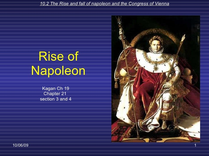 Rise Of Napoleon Ch 21 Sec 3 And 4