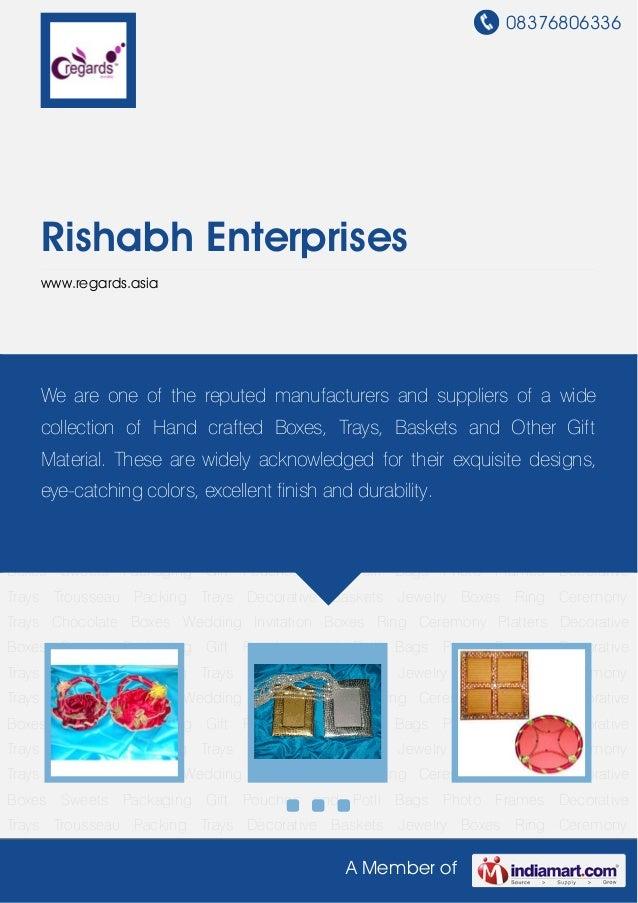 Pipe Potli Bags by Rishabh enterprises