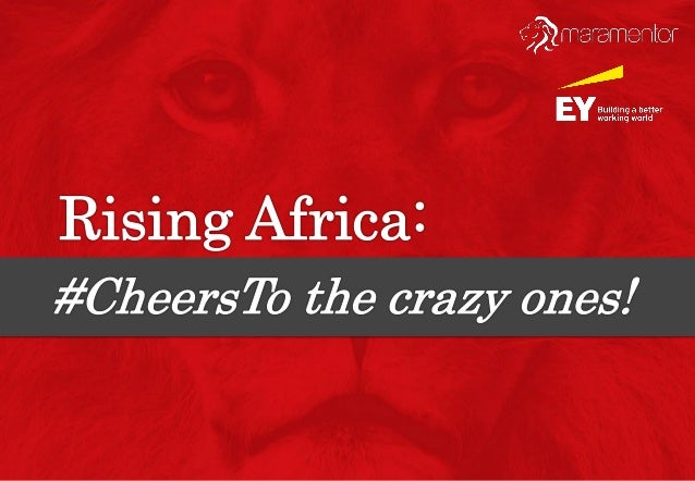 #CheersTo is an initiative by Mara Foundation to identify and celebrate the amazing entrepreneurs in Nigeria and across Af...