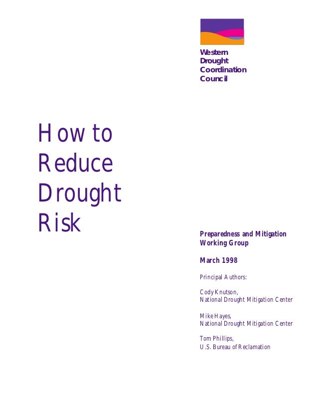 How to Reduce Drought Risk - University of Nebraska