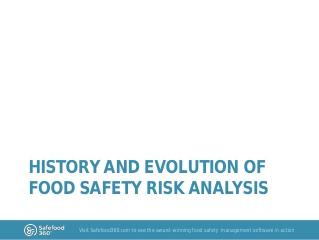 food safety scheme and risk assessment Risk assessment: examples in guiding food safety food safety and inspection service michelle catlin, phd director, risk assessment and analytics staff.
