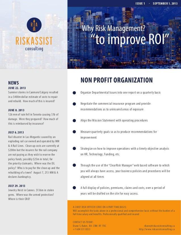 Riskassist Newsletter v6 20_non-profit