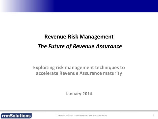 Risk Based Approach to RA