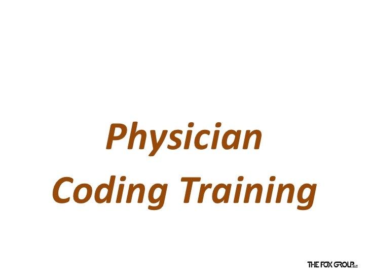 Risk-Based Coding & Documentation