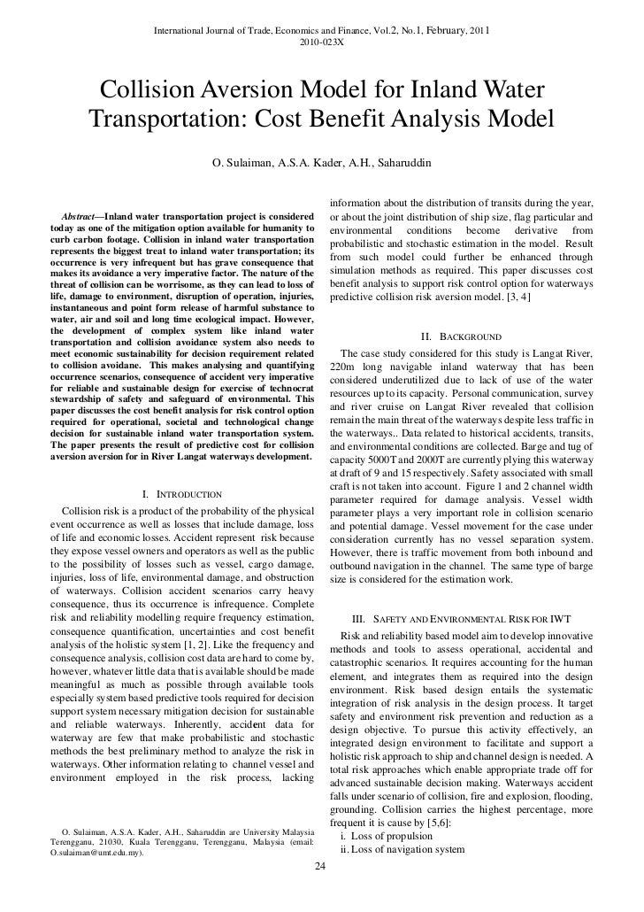 International Journal of Trade, Economics and Finance, Vol.2, No.1, February, 2011                                        ...