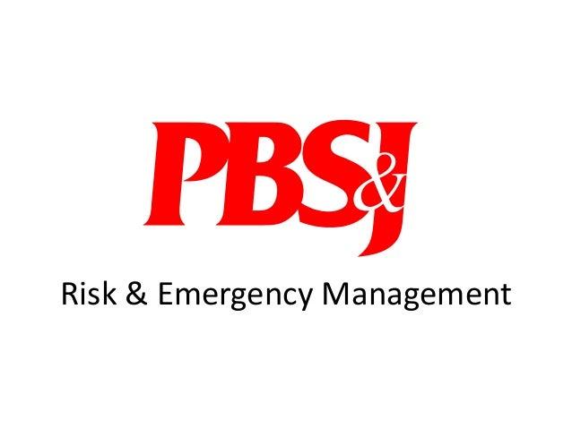 Risk & Emergency Management