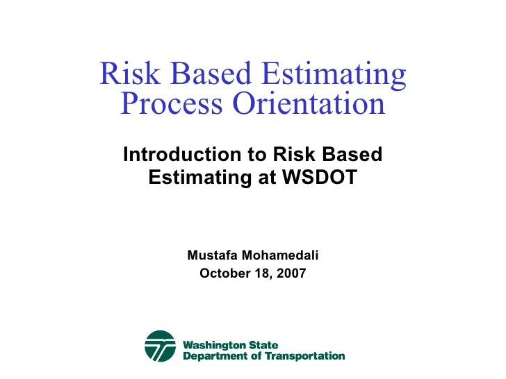 Risk Est 200907 Linked In