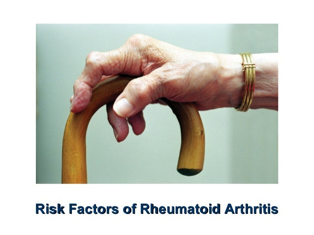 Risk Factors of Rheumatoid Arthritis