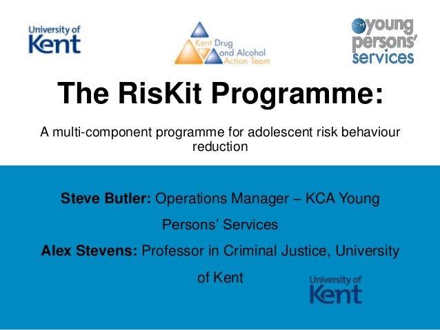 RisKit programme - ADEPIS seminar