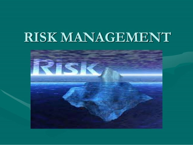 Risk Management in Insurance Sector