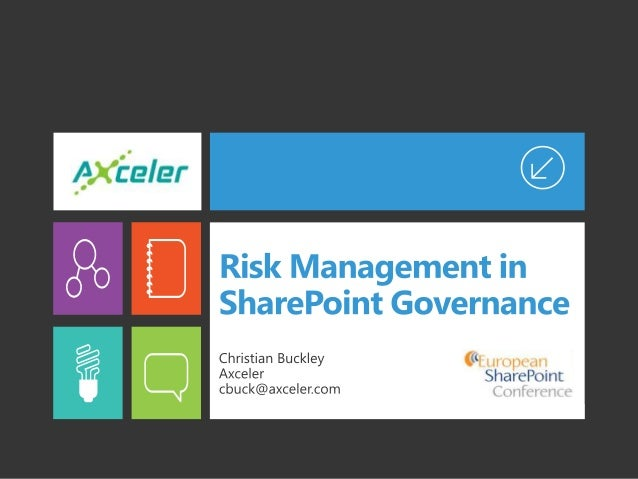 Risk Management in SharePoint Governance