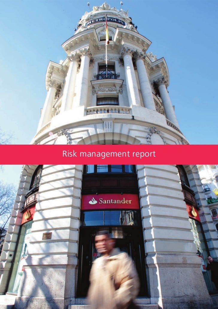 Santander Bank Risk management report 2011
