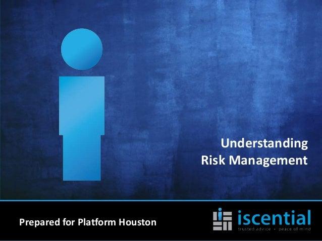 Understanding Risk Management by Bobby Talbott