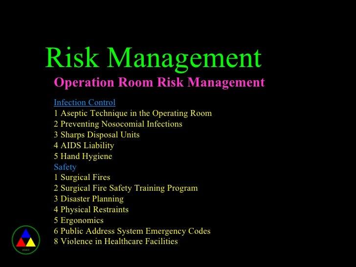 Risk Management In Healthcare