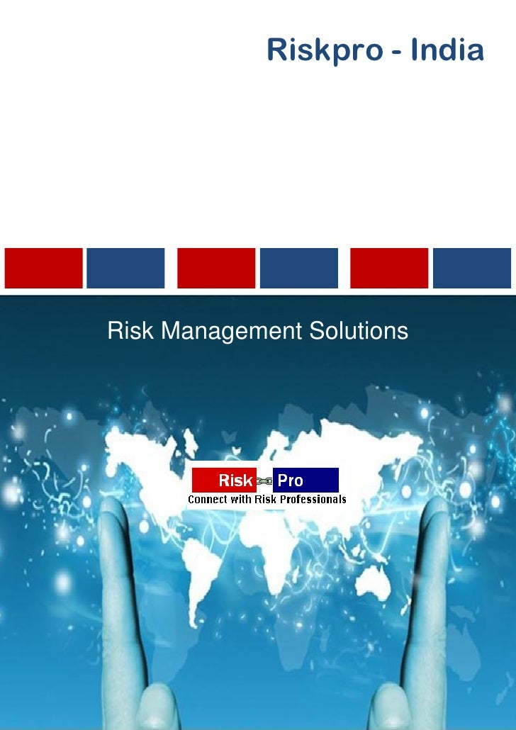 Riskpro - IndiaRisk Management Solutions