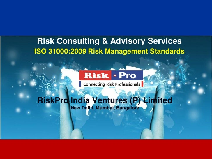 Riskpro Iso 31000 Services
