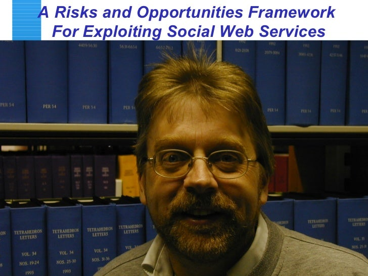 A Risks and Opportunities Framework  For Exploiting Social Web Services
