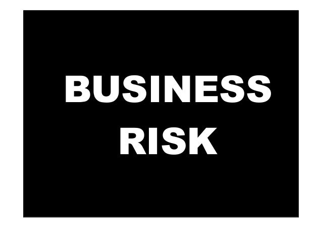 Risks in Business