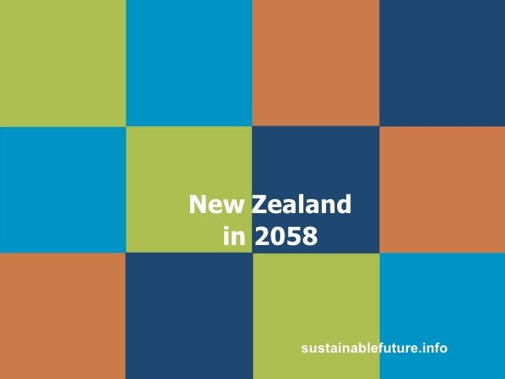 New Zealand in 2058