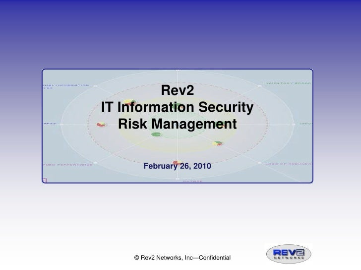 Risk View - InfoSec intro