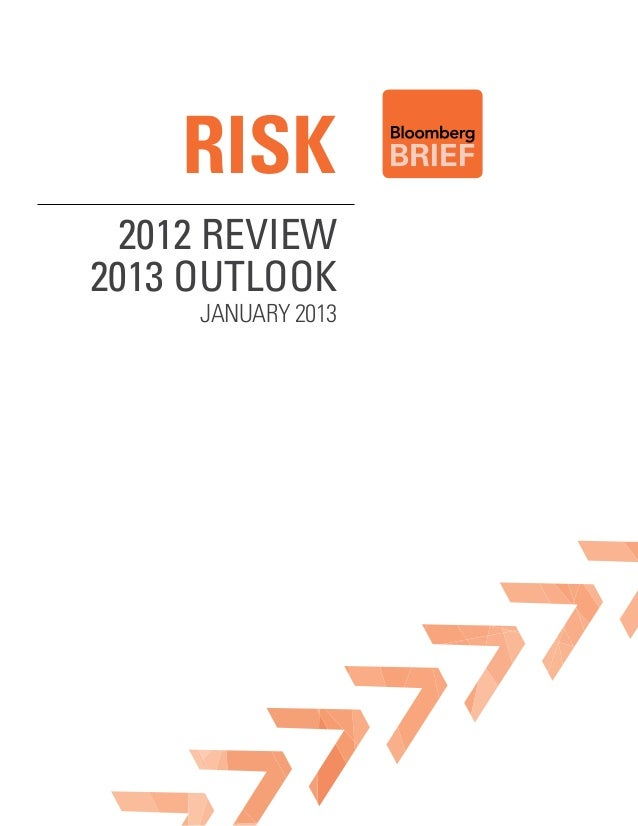risk 2012 Review2013 outlook     January 2013