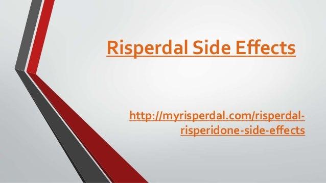 Risperdal 1mg Side Effects