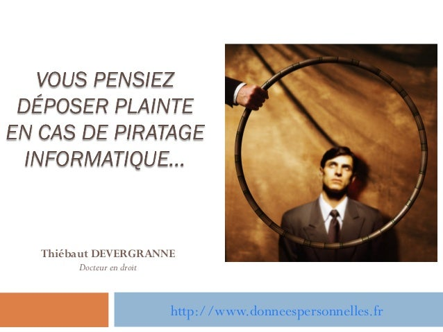 Thiébaut DEVERGRANNEDocteur en droithttp://www.donneespersonnelles.fr