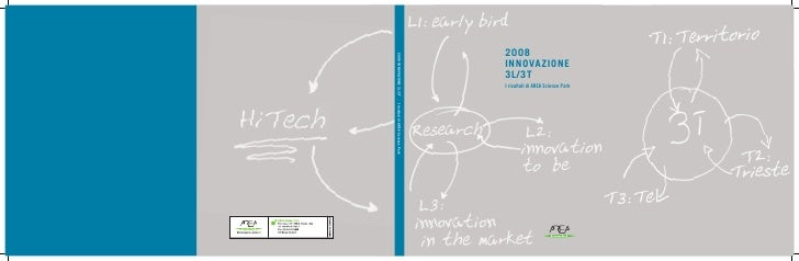 2008INNOVAZIONE3L/3T_IrisultatidiAREASciencePark 2008 INNOVAZIONE 3L/3T I risultati di AREA Science Park