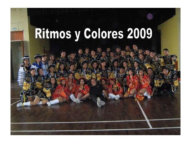 FIN DE FIESTA Ritmos Y Colores