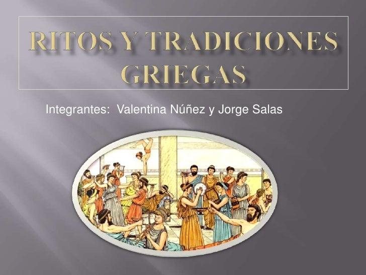 Ritos y tradiciones griegas for Costumbres de grecia