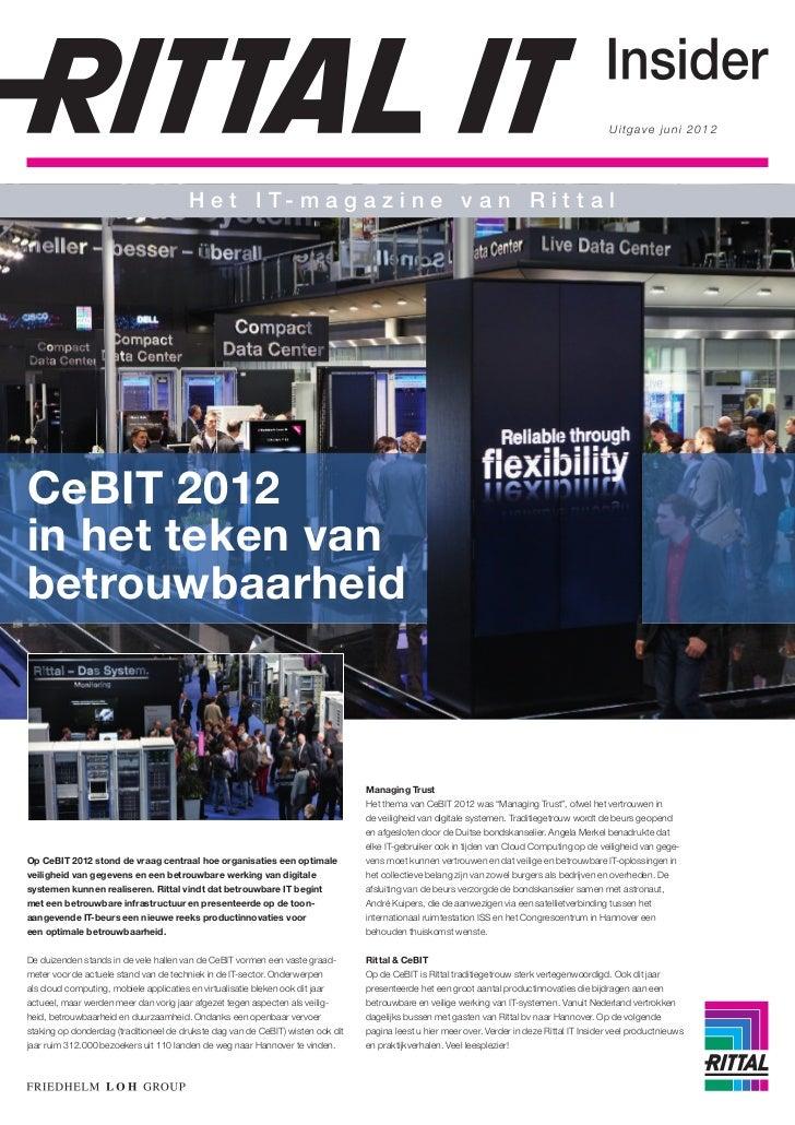 Rittal IT Insider 2012
