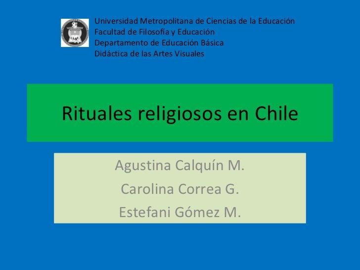 Rituales religiosos en chile