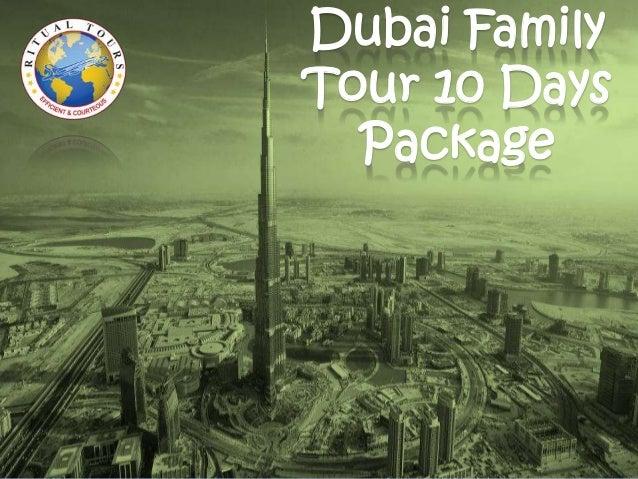 Ritual Tours Dubai Family Tour Package