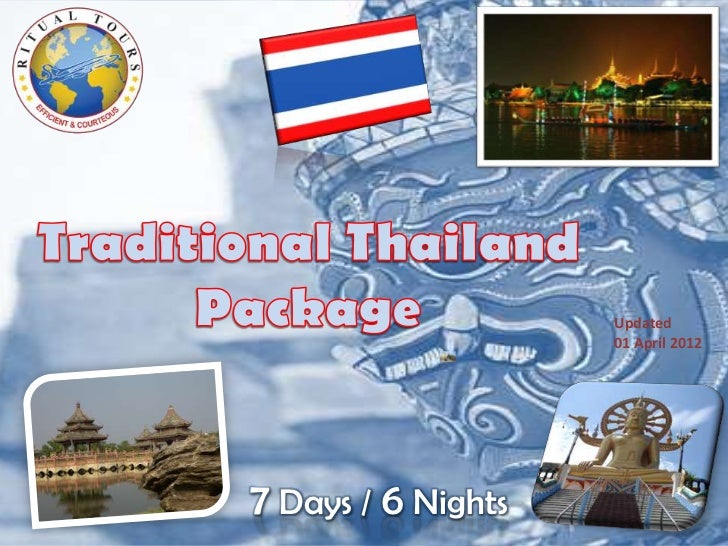 Updated                    01 April 20127 Days / 6 Nights