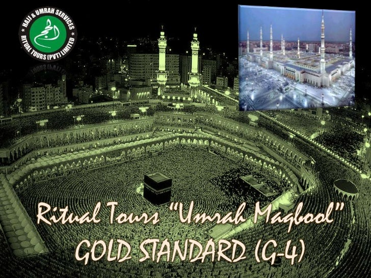 Ritual Tours Umrah Maqbool Gold Package G4