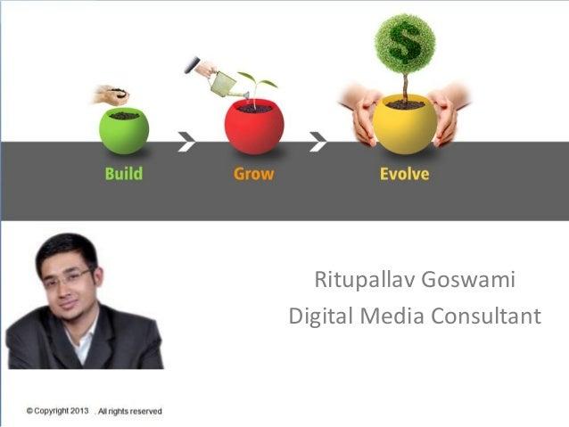 Ritupallav goswami -digital media consutlant