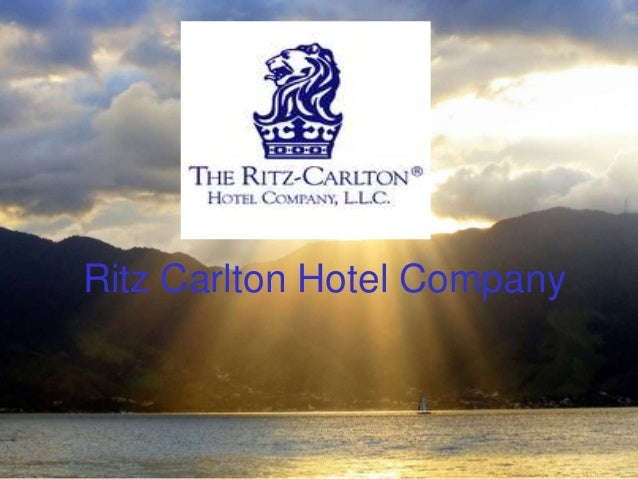 the ritz carlton hotel company case study report