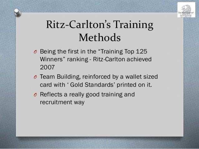 Ritz carlton case on recruiting