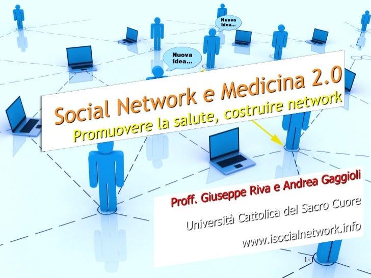 Social Network e Medicina 2.0