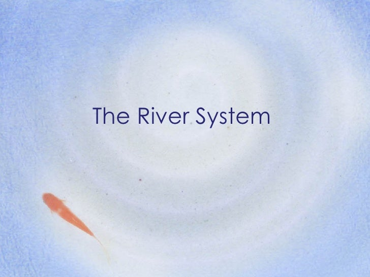 Sec 1 NA - River system & drainage
