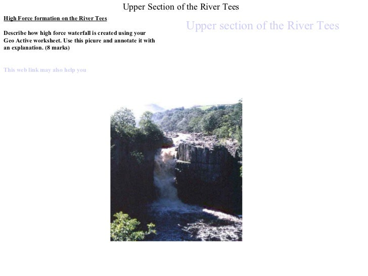 River Tees From Source To Mouth