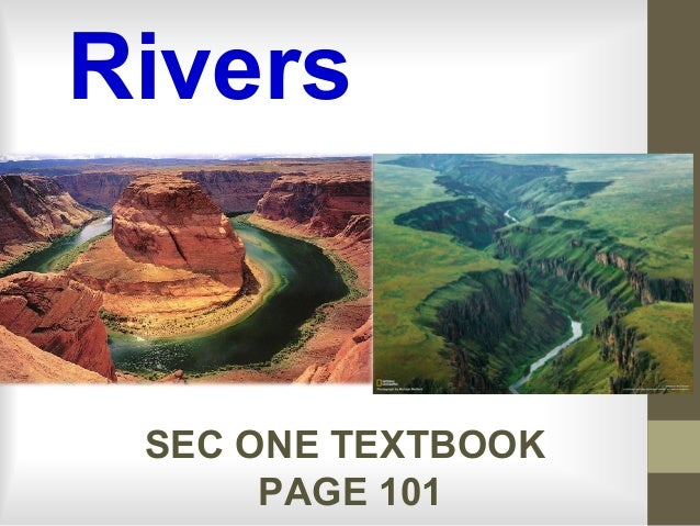 River 1 hydro cycle and river system