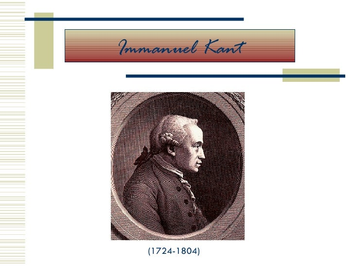 Power Point sobre Kant.