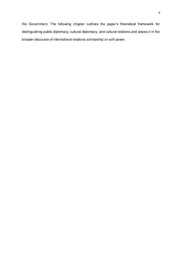 Dissertation international relations