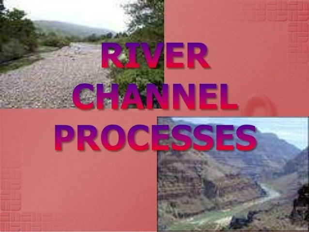 River Processes Velocity Flow Hjulstrom Curve