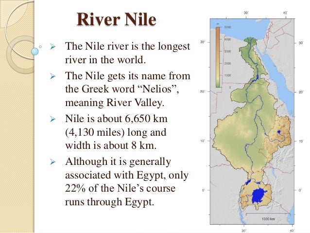 importance of the nile river for egypt The nile's impact on ancient egypt - the nile river in ancient egypt allowed the great egyptian civilizations to it also was the country's most important.