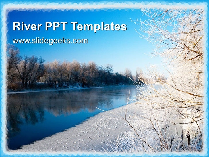 river ppt templates