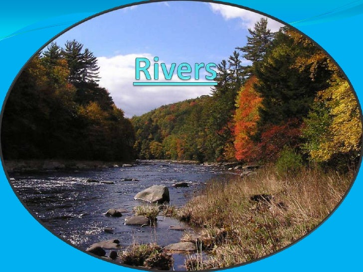 The meaning of a river. A river is a natural stream of freshwater flowing towards  an ocean, a lake, a sea, or another ri...