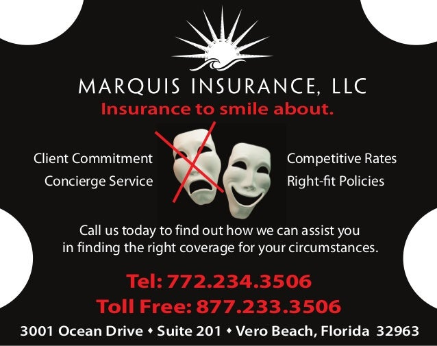 Insurance to smile about. Client Commitment                        Competitive Rates   Concierge Service                  ...