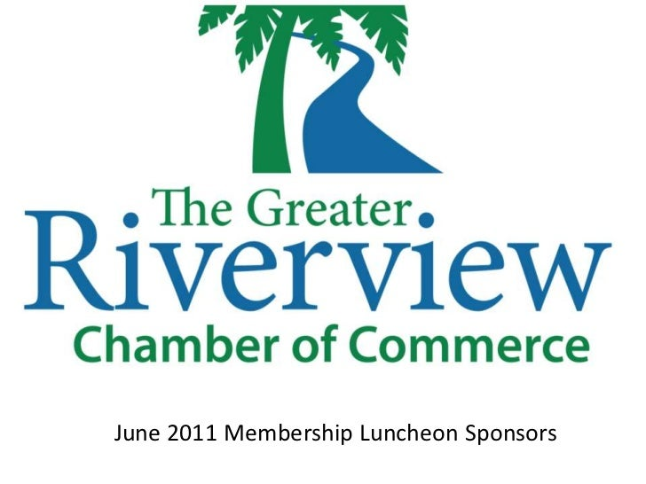 Riverview Chamber June 2011 Luncheon